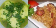 Meniu Supa de Pui cu Galuste si Varza cu Ciolan
