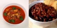 Meniu Supa Gulas de Vita si Fasole Rosie cu Carne de Vita