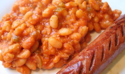 Fasole cu carnati (1.8 kg)