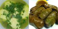 Meniu Supa de Pui si Sarmale in Foi de Vita