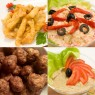 Meniu Maxi cu Pui Shanghai Salata a la Russe Chiftele de Porc si Salata de Vinete