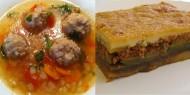 Meniu Ciorba de Perisoare si Musaca de Vinete cu Carne de Vita
