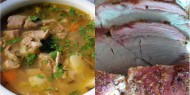 Meniu Ciorba de Curcan si Friptura de Porc la Cuptor