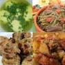 Meniu Supa de Pui, Fasole Verde cu Porc, Chiftele de Pui si Cartofi Taranesti