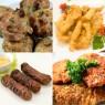 Meniu Chiftele de Porc, Pui Shanghai, Snitele de Pui, Mici