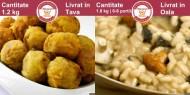 Meniu de Post Chiftele Vegetariene si Pilaf cu Ciuperci