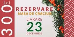 Rezervare Masa Craciun 23 Decembrie